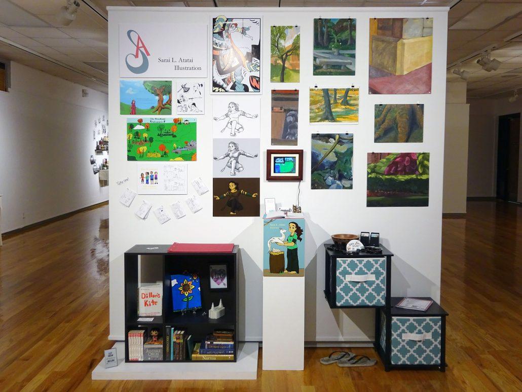 Senior Exhibition Graphic Design Illustration Fall 2017 Ucm Gallery Of Art Design